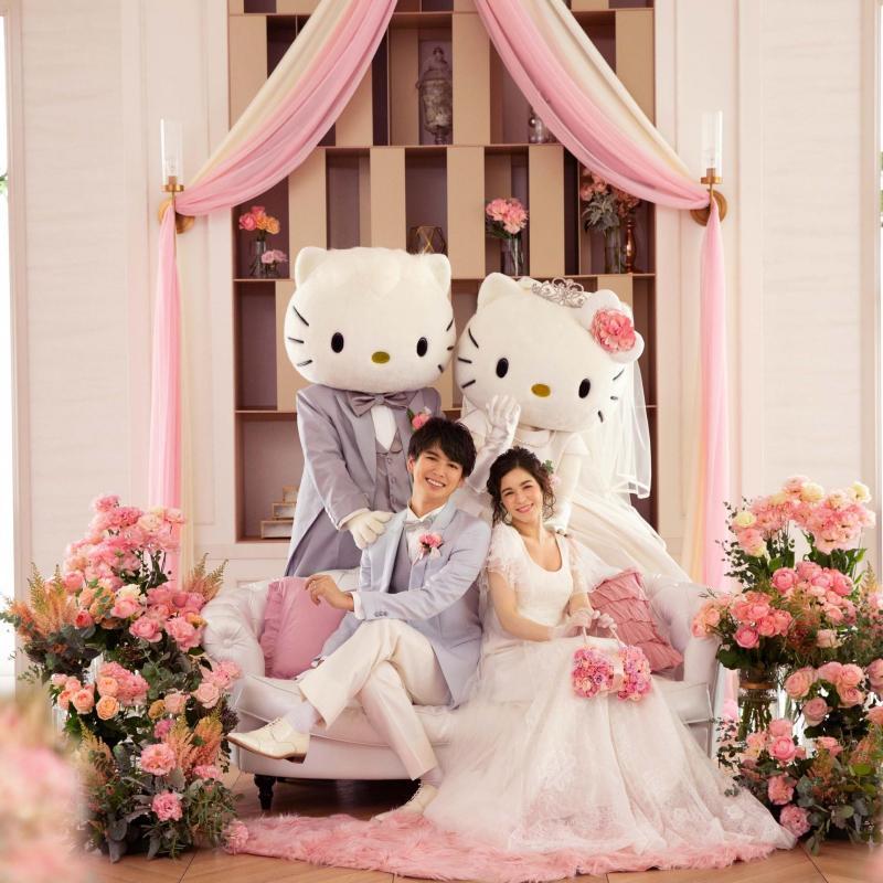 ☆ハローキティを結婚式に招待☆限定特典×特別プラン相談会♪